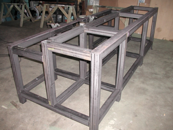 custom machine frames
